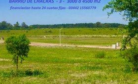 LOTEO BARRIO DE CHACRAS 3 - LOTES DE 3000 A 4500 M2 ZONA TERMAS