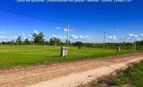 LOTEO EL  REMANSO - COLONIA PERFECCION SUR- ZONA DE QUINTAS 650 M2